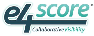 e4 Score logo